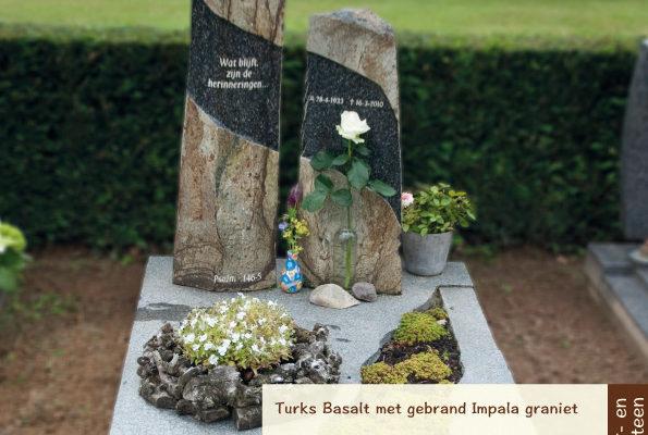 Natuur- en hardsteen – Turks Basalt