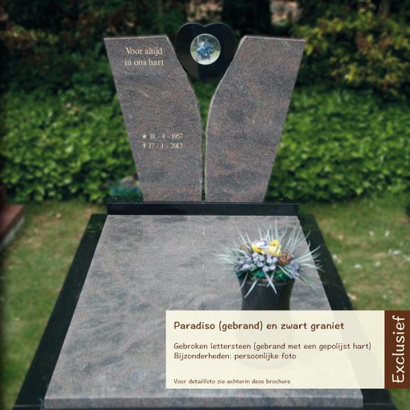 Exclusief – Paradiso en zwart graniet