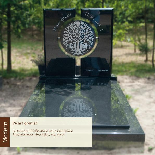 Modern – Zwart graniet