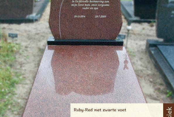 Klassiek – Ruby-red