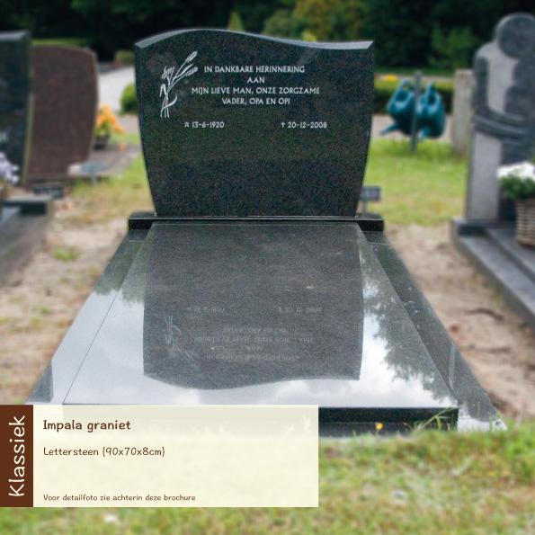 Klassiek – impala graniet