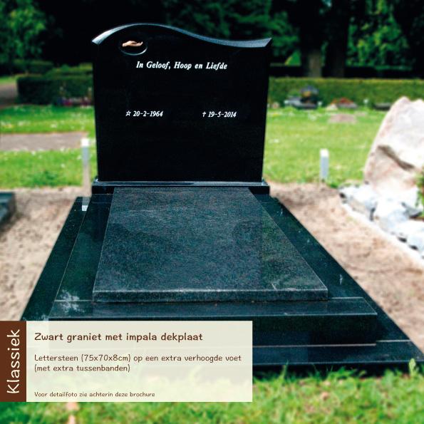 Klassiek – zwart graniet